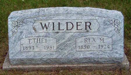 WILDER, ETHEL MARIE - Madison County, Iowa | ETHEL MARIE WILDER