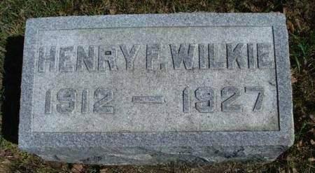 WILKIE, HENRY FRED - Madison County, Iowa | HENRY FRED WILKIE