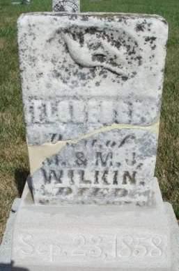 WILKIN, FLORENCE - Madison County, Iowa   FLORENCE WILKIN