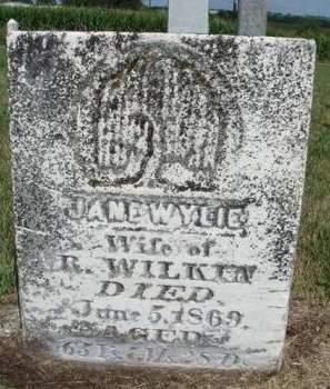 WILKIN, JANE - Madison County, Iowa | JANE WILKIN