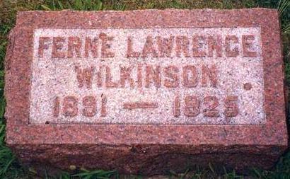 WILKINSON, FERNE - Madison County, Iowa | FERNE WILKINSON