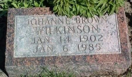 WILKINSON, JOHANNE - Madison County, Iowa | JOHANNE WILKINSON