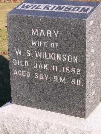 WILKINSON, MARY - Madison County, Iowa | MARY WILKINSON