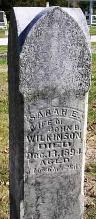 WILKINSON, SARAH ELLEN - Madison County, Iowa   SARAH ELLEN WILKINSON