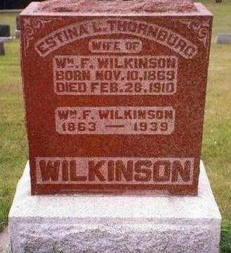 WILKINSON, ESTINA LOIS - Madison County, Iowa | ESTINA LOIS WILKINSON