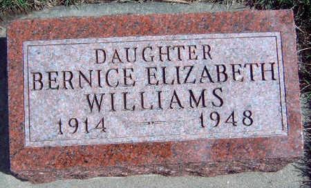 WILLIAMS, BERNICE ELIZABETH - Madison County, Iowa | BERNICE ELIZABETH WILLIAMS