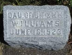 WILLIAMS, INFANT - Madison County, Iowa | INFANT WILLIAMS