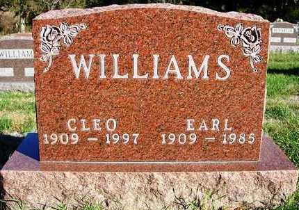 WILLIAMS, CLEO - Madison County, Iowa | CLEO WILLIAMS