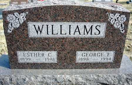 WILLIAMS, ESTHER NELLE - Madison County, Iowa   ESTHER NELLE WILLIAMS