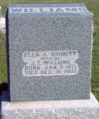 WILLIAMS, ELLA L - Madison County, Iowa | ELLA L WILLIAMS