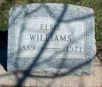 WILLIAMS, ELSIE - Madison County, Iowa | ELSIE WILLIAMS