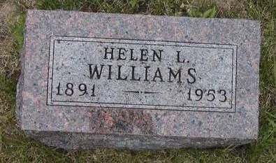 WILLIAMS, HELEN LYDIA - Madison County, Iowa | HELEN LYDIA WILLIAMS