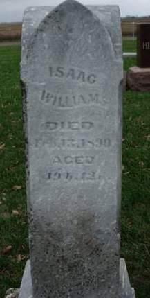 WILLIAMS, ISAAC - Madison County, Iowa | ISAAC WILLIAMS