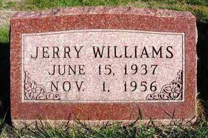 WILLIAMS, JERRY - Madison County, Iowa   JERRY WILLIAMS