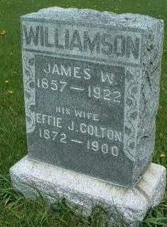 WILLIAMSON, EFFIE JANE - Madison County, Iowa | EFFIE JANE WILLIAMSON