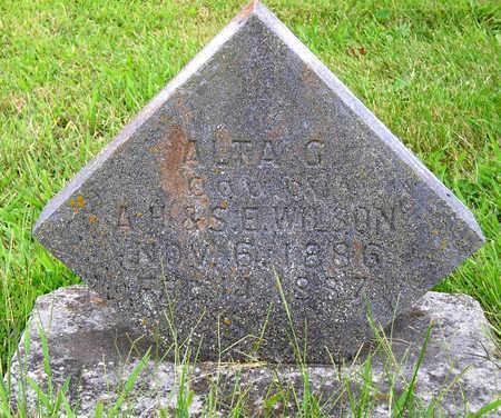 WILSON, ALTA G. - Madison County, Iowa | ALTA G. WILSON