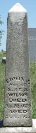WILSON, EDWIN J. - Madison County, Iowa   EDWIN J. WILSON