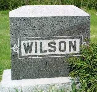 WILSON, FAMILY HEADSTONE - Madison County, Iowa | FAMILY HEADSTONE WILSON