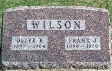 WILSON, OLIVE RUTH - Madison County, Iowa | OLIVE RUTH WILSON