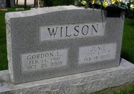 WILSON, JUNIETTA AGNES (JUNIE) - Madison County, Iowa | JUNIETTA AGNES (JUNIE) WILSON