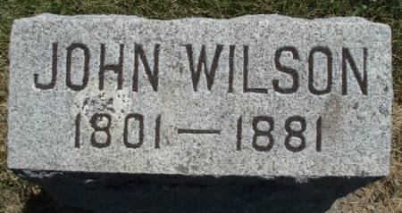 WILSON, JOHN - Madison County, Iowa | JOHN WILSON