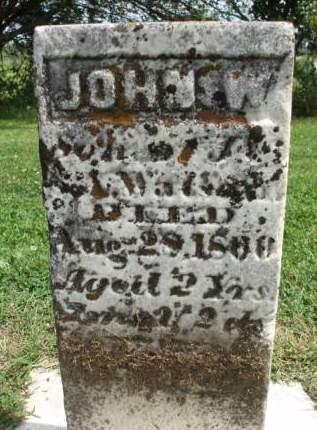 WILSON, JOHN W. - Madison County, Iowa   JOHN W. WILSON