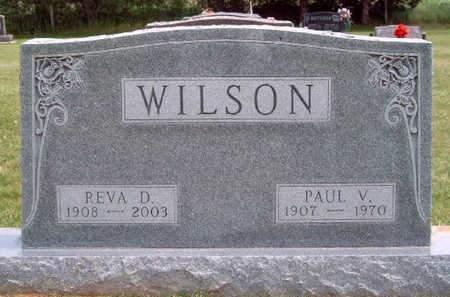 WILSON, REVA DELL - Madison County, Iowa | REVA DELL WILSON