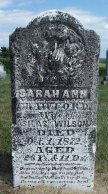 WILSON, SARAH ANN - Madison County, Iowa | SARAH ANN WILSON