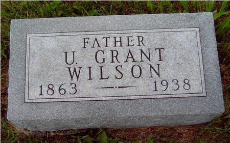 WILSON, ULYSSES GRANT - Madison County, Iowa | ULYSSES GRANT WILSON