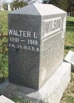 WILSON, WALTER I. - Madison County, Iowa   WALTER I. WILSON