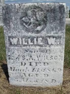 WILSON, WILLIE W. - Madison County, Iowa | WILLIE W. WILSON