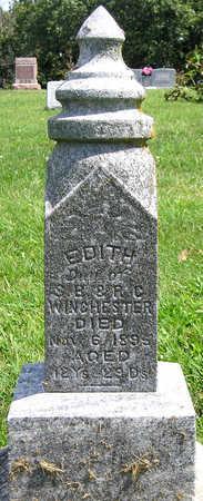 WINCHESTER, EDITH HELEN - Madison County, Iowa | EDITH HELEN WINCHESTER