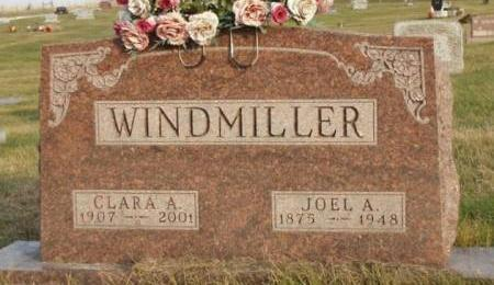 WINDMILLER, CLARA A. - Madison County, Iowa   CLARA A. WINDMILLER
