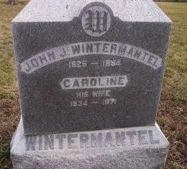WINTERMANTEL, CAROLINE - Madison County, Iowa | CAROLINE WINTERMANTEL