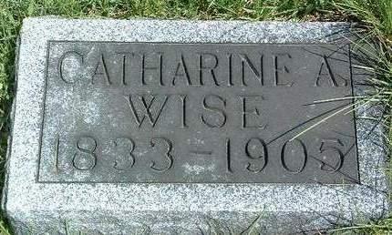 WISE, CATHERINE A. - Madison County, Iowa | CATHERINE A. WISE