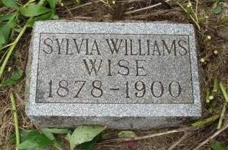 WILLIAMS WISE, SYLVIA  E. - Madison County, Iowa | SYLVIA  E. WILLIAMS WISE