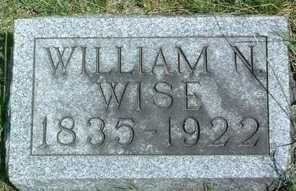 WISE, WILLIAM HENRY - Madison County, Iowa | WILLIAM HENRY WISE