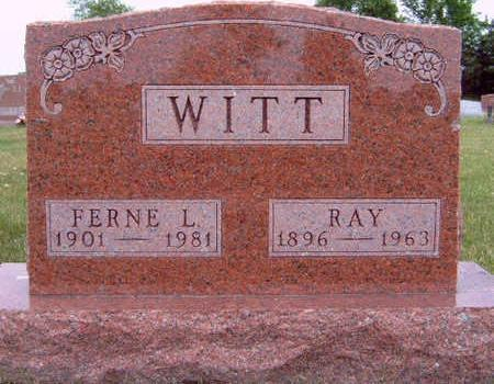 WITT, RAY - Madison County, Iowa | RAY WITT