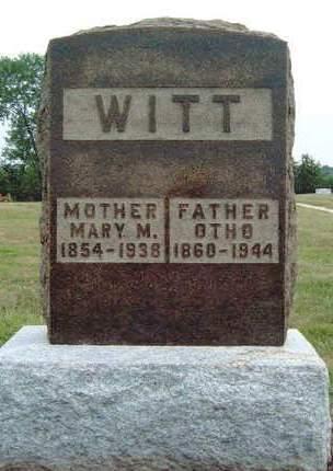 WITT, MARY MAGDELINE - Madison County, Iowa | MARY MAGDELINE WITT