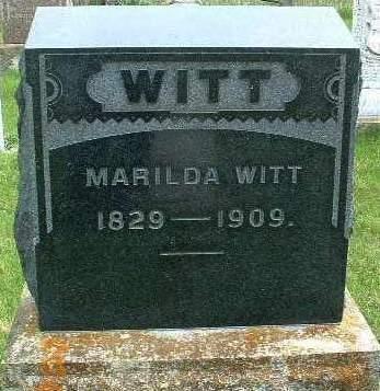 WITT, MARILDA - Madison County, Iowa | MARILDA WITT