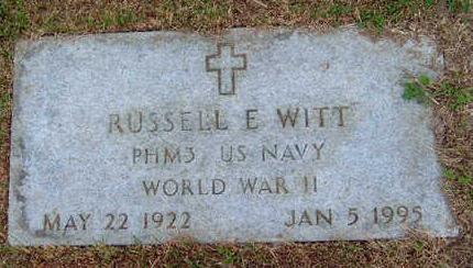 WITT, RUSSELL EUGENE - Madison County, Iowa | RUSSELL EUGENE WITT
