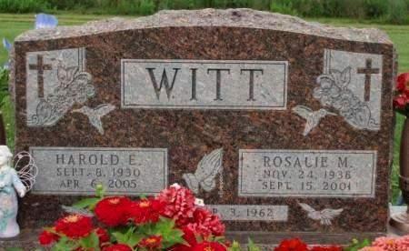 WITT, ROSALIE MARY - Madison County, Iowa | ROSALIE MARY WITT