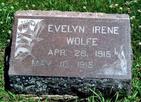 WOLFE, EVELYN IRENE - Madison County, Iowa   EVELYN IRENE WOLFE