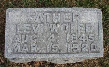WOLFE, LEVI - Madison County, Iowa | LEVI WOLFE