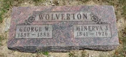 WOLVERTON, MINERVA JANE - Madison County, Iowa | MINERVA JANE WOLVERTON