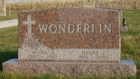 WONDERLIN, HENRY JEROME - Madison County, Iowa | HENRY JEROME WONDERLIN