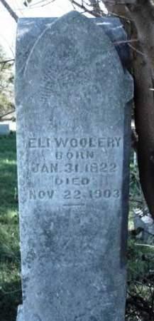 WOOLERY, ELI - Madison County, Iowa   ELI WOOLERY