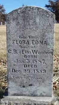 WOOLERY, FLORA EDNA - Madison County, Iowa | FLORA EDNA WOOLERY