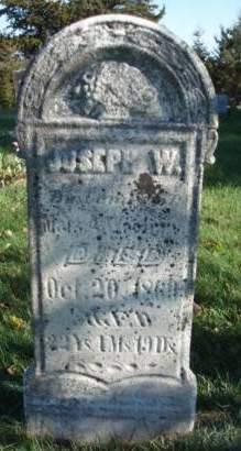 WOOLERY, JOSEPH W. - Madison County, Iowa | JOSEPH W. WOOLERY