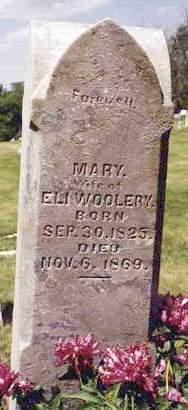WOOLERY, MARY - Madison County, Iowa | MARY WOOLERY